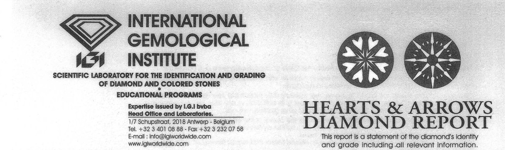 IGI certifikát ID